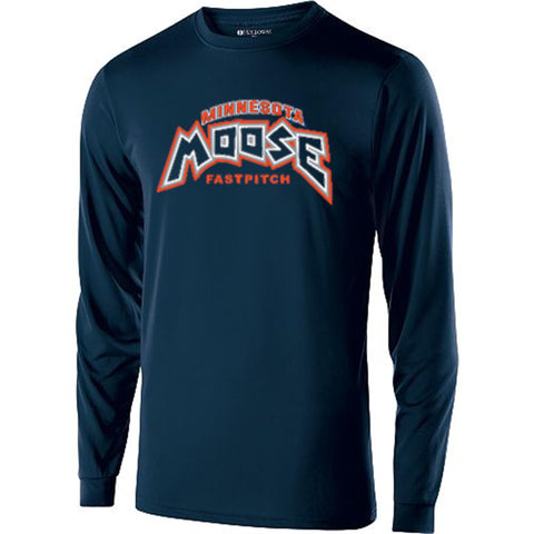 Moose Long Sleeve Performance Shirt (NEW) - Complete Game Pro Shop
