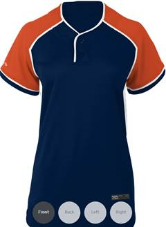 Moose Boombah Women's 2-Button Jersey - Complete Game Pro Shop