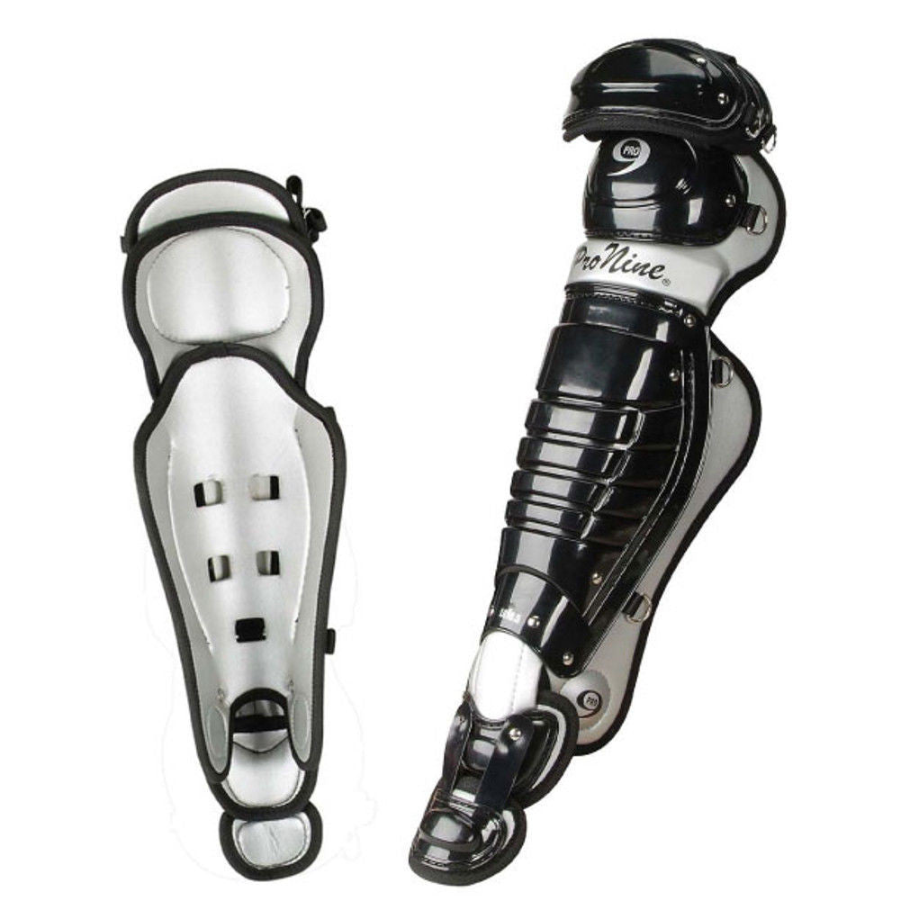"ProNine LG Catcher's Leg Guards- 13"" or 14.5"" - Complete Game Pro Shop"