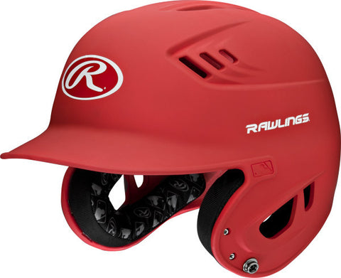 New Rawlings Adult R16 Batting Helmet- matte/red - slight scratches - Complete Game Pro Shop