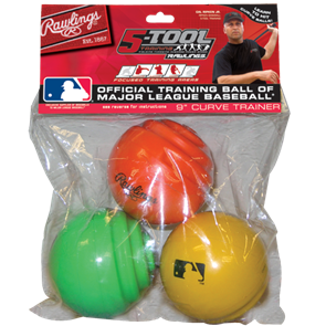 Rawlings 9 Inch Curve Training Balls - Complete Game Pro Shop