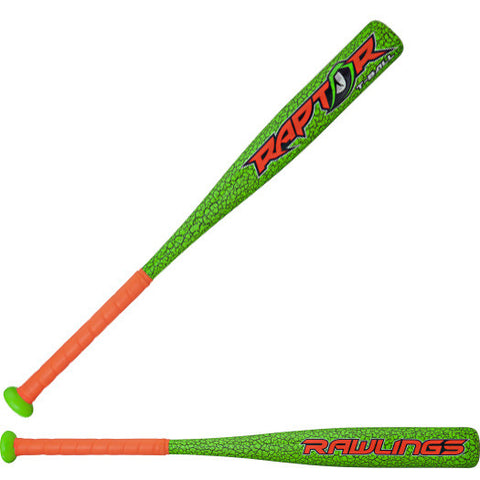 Rawlings 2017 Raptor (-12) Tee Ball Baseball Bat - Complete Game Pro Shop