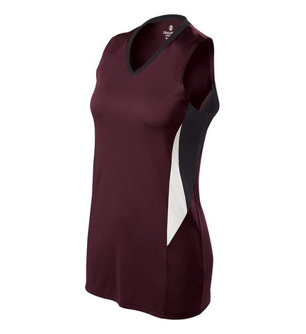 Lot of 13 Holloway Ladies Rise Jersey- Maroon - Complete Game Pro Shop
