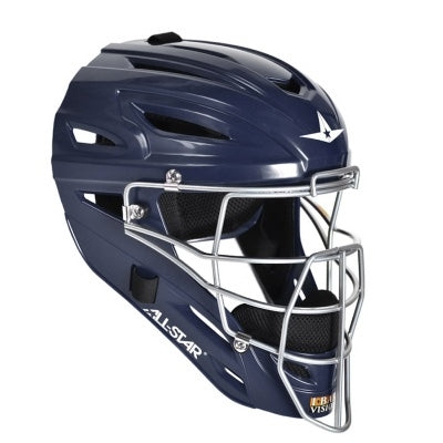 All-Star MVP2500 Adult Catcher's Helmet- Navy - Complete Game Pro Shop