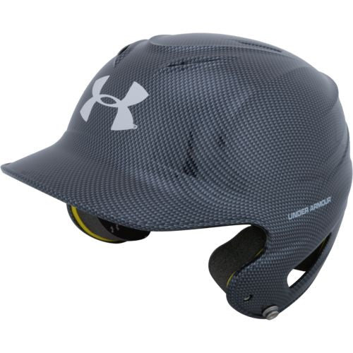 Under Armour UABH-110 Carbon Junior Batting Helmet- Black - Complete Game Pro Shop