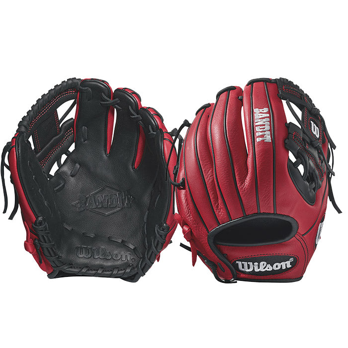 Wilson Bandit 1786 11.5 inch Red/Black Baseball Glove- RHT - Complete Game Pro Shop