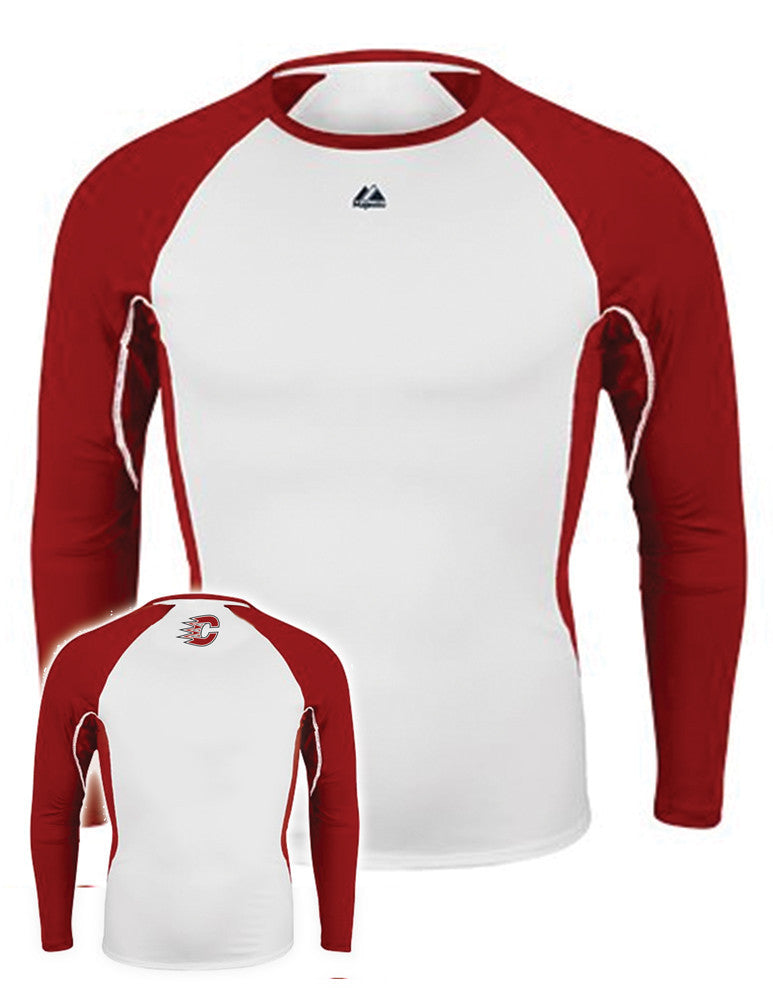 Centennial Majestic Long Sleeve Performance T-Shirt - Complete Game Pro Shop