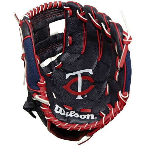 Wilson MLB Team Tee-Ball Baseball Glove (Minnesota Twins) - Complete Game Pro Shop