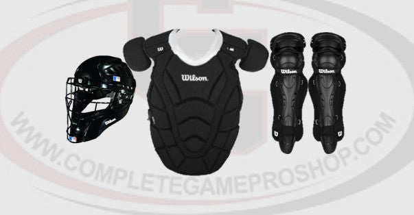 Wilson MaxMotion Baseball Catcher's Set - Complete Game Pro Shop