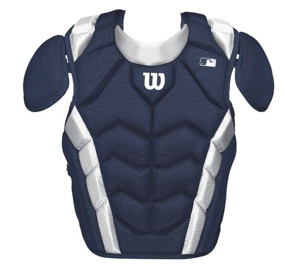 "Wilson Pro Stock Navy Chest Protector WTA4700 16.5"" - Complete Game Pro Shop"