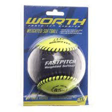 Worth Fastpitch Weighted Softball - Complete Game Pro Shop