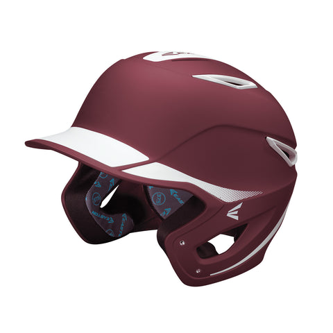 Easton Z6 Grip Two Tone Batting Helmet- Matte/Maroon - Complete Game Pro Shop