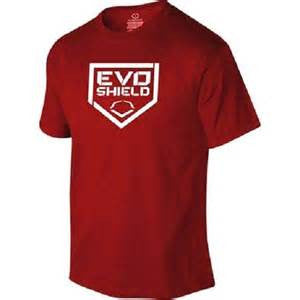 Evoshield Home Plate Men's Graphic Tee Red - Complete Game Pro Shop