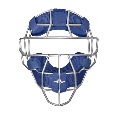 All-Star S7™ TRADITONAL CATCHER FACE MASK W/ LUC PADS- NAVY - Complete Game Pro Shop