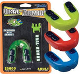 Franklin Sports Youth Oral-Armor Gel Mouthguard with Strapping System - Complete Game Pro Shop
