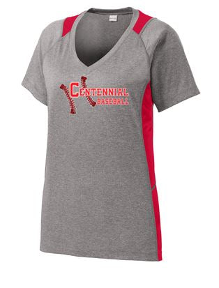 Baseball Ladies Contender Colorblock Shirt - Complete Game Pro Shop