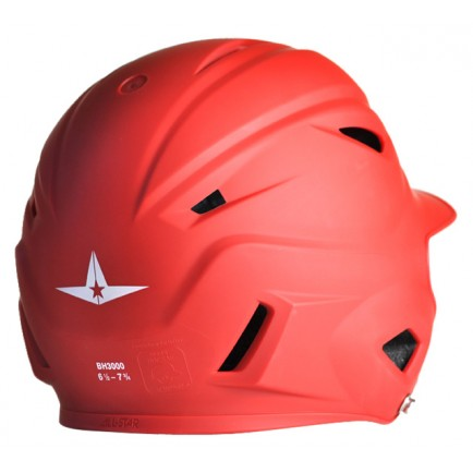 All-Star System 7 BH3000M Batting Helmet- Matte/Scarlet - Complete Game Pro Shop