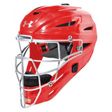 Under Armour Converge UAHG3-AM Adult Catchers Mask Matte- scarlet - Complete Game Pro Shop