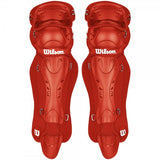 Wilson Max Motion Fastpitch Catcher Leg Guards - Complete Game Pro Shop