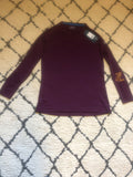 Lot of 7 Mizuno Women's Comp Training Top- Maroon (new with FL printed on sleeve) - Complete Game Pro Shop