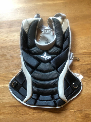 All-Star Player's Series 14.5 Inch Women's Fastpitch Catcher Chest Protector- CPW14.5SY - Complete Game Pro Shop