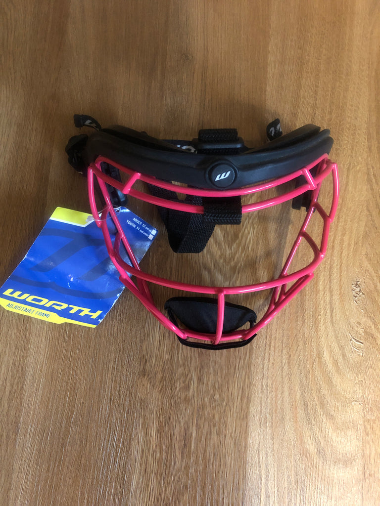Worth Softball Fielder's Mask- Pink - Complete Game Pro Shop