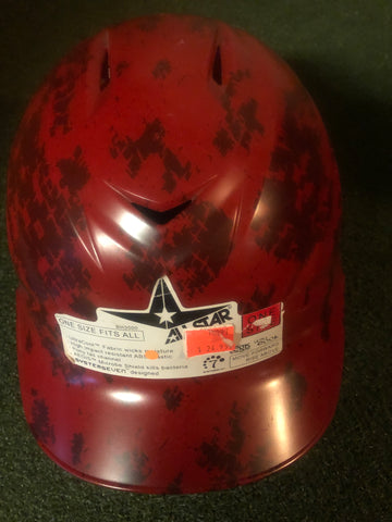 All-Star System 7 BH3000AC Batting Helmet- Red - Complete Game Pro Shop