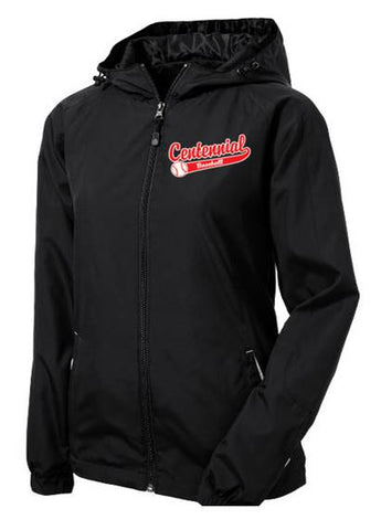 Centennial Baseball Ladies Colorblock Hooded Raglan Jacket - Complete Game Pro Shop