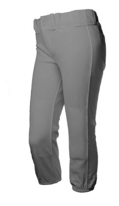 Rip-It Classic 4-Way Stretch Pro Charcoal Softball Pants- Women's and Girl's Sizes - Complete Game Pro Shop