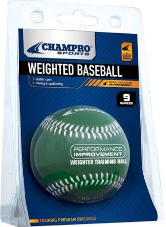 Champro Sports Weighted Baseball - Complete Game Pro Shop