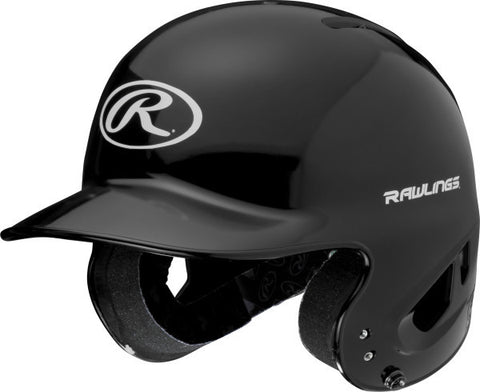 Rawlings MLB T-Ball Batting Helmet- Gloss Black (minor blemishes) - Complete Game Pro Shop