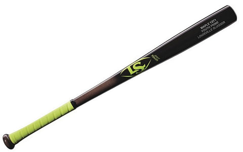Louisville Slugger Youth Prime Maple Y271 Neon Fade Baseball Bat with Grip - Complete Game Pro Shop
