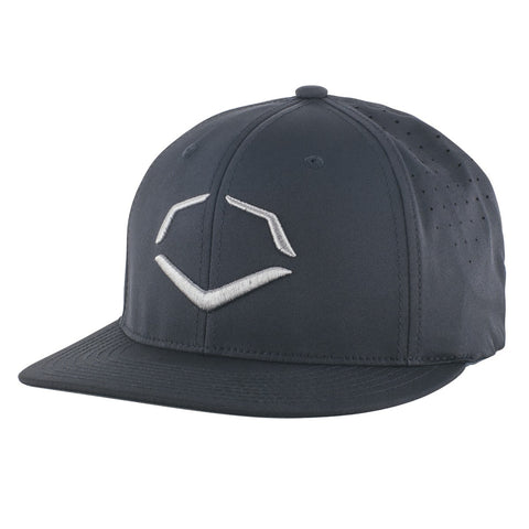 EvoShield Tourney EvoLITE FlexFit VII Baseball Cap - Black - Complete Game Pro Shop