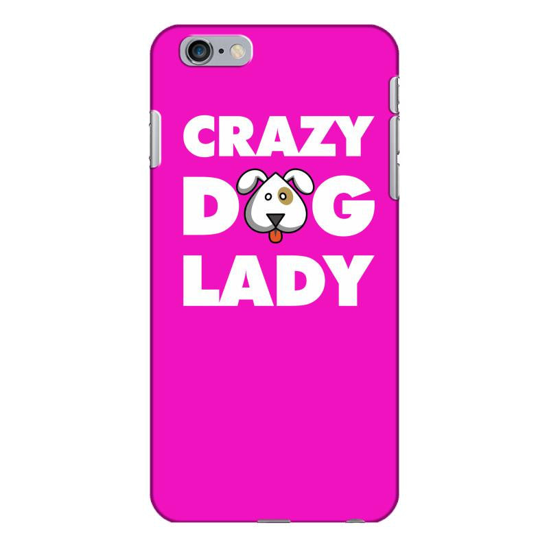 Crazy Dog Lady iPhone 6/6s Plus  Shell Case