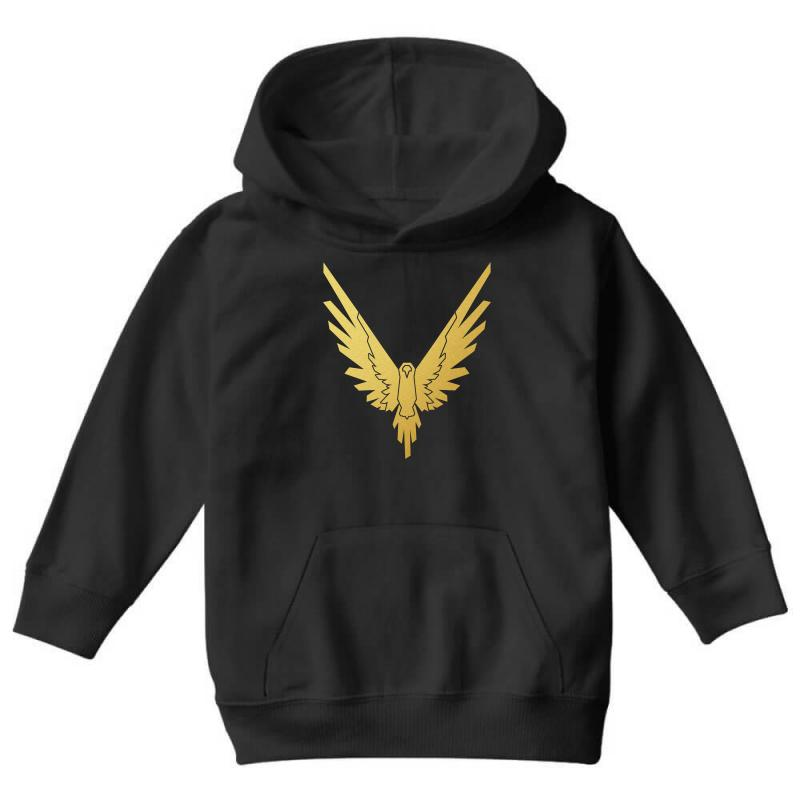Logan Paul Maverick Gold Youth Hoodie