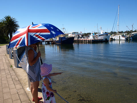 Australia Day in Lakes Entrance