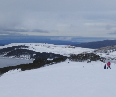 Falls Creek Downhill Skiing Slopes