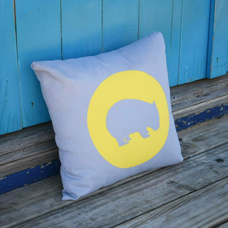 CUDDLY WOMBAT CUSHION