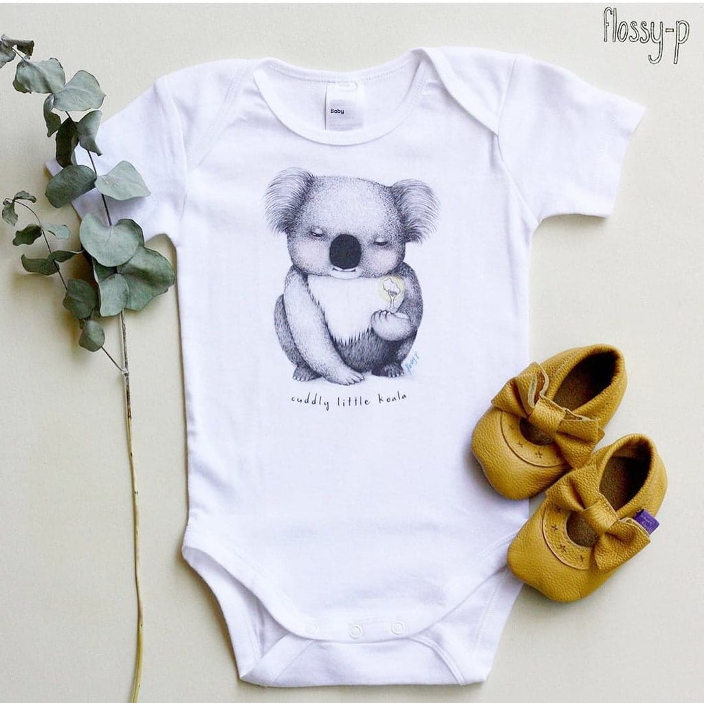 Koala Baby Suit by flossy-p