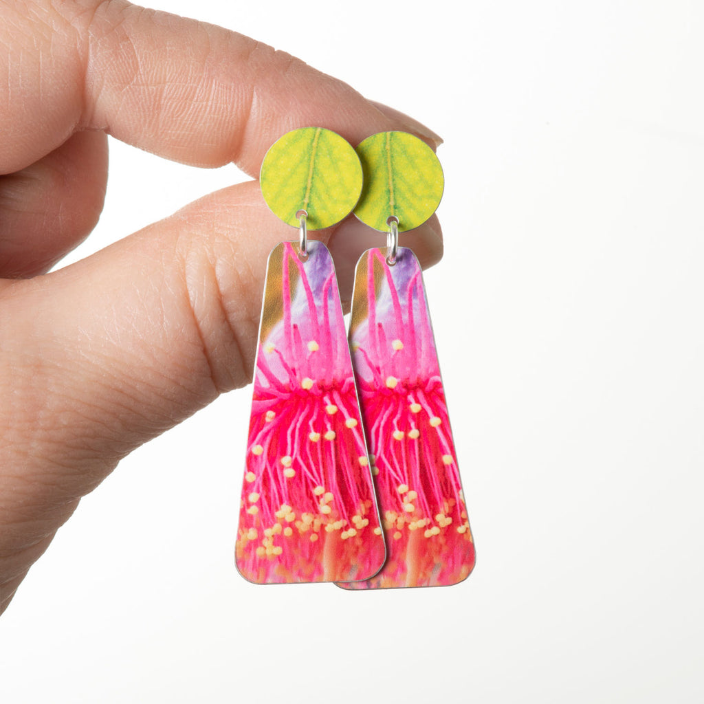 GUM BLOSSOM LONG EARRINGS