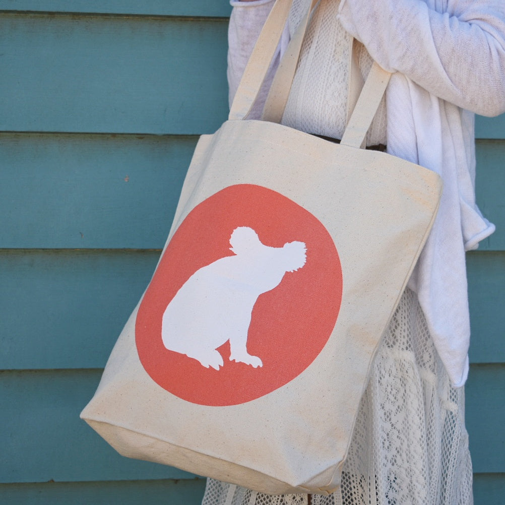 ICONIC KOALA CANVAS BAG