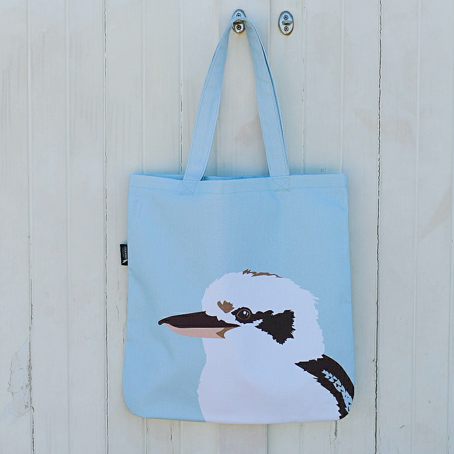 Kookaburra Handmade Tote by Cockatoo Collection