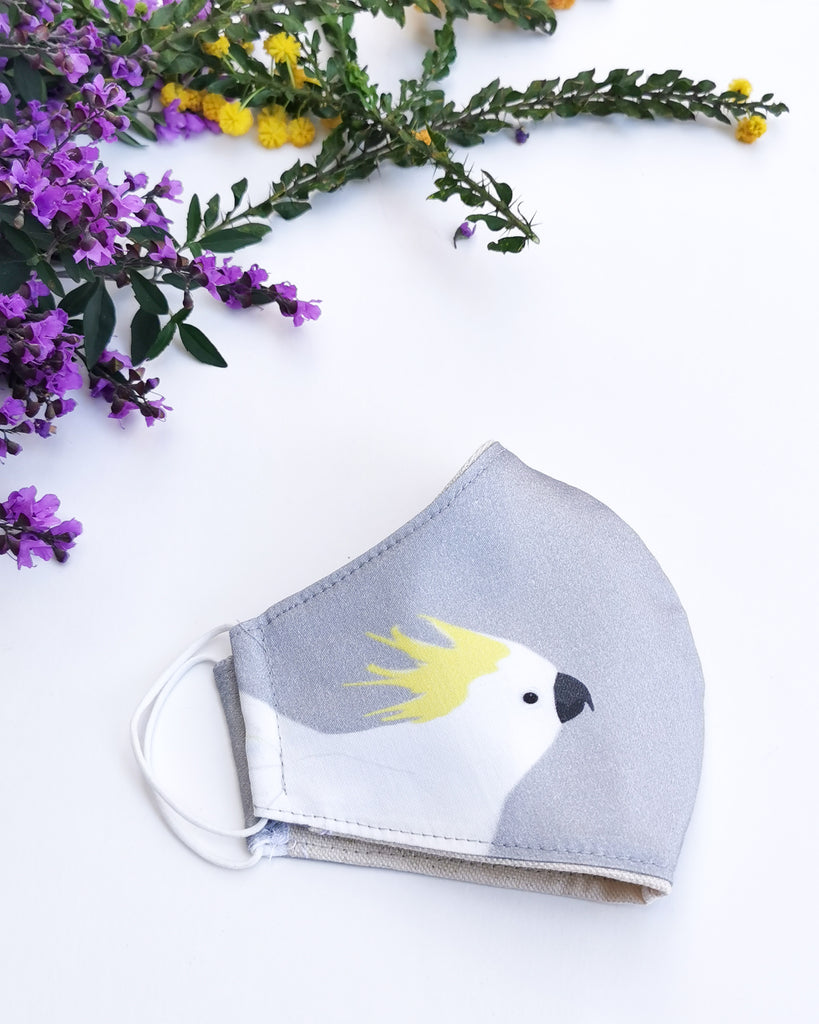 Cockatoo Reusable Face Mask