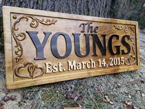 Custom Wooden Sign