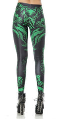 OCTO GREEN-NYLeggings.com
