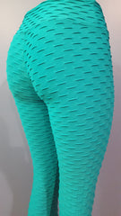 BUBBLE TEAL - NYLeggings.com