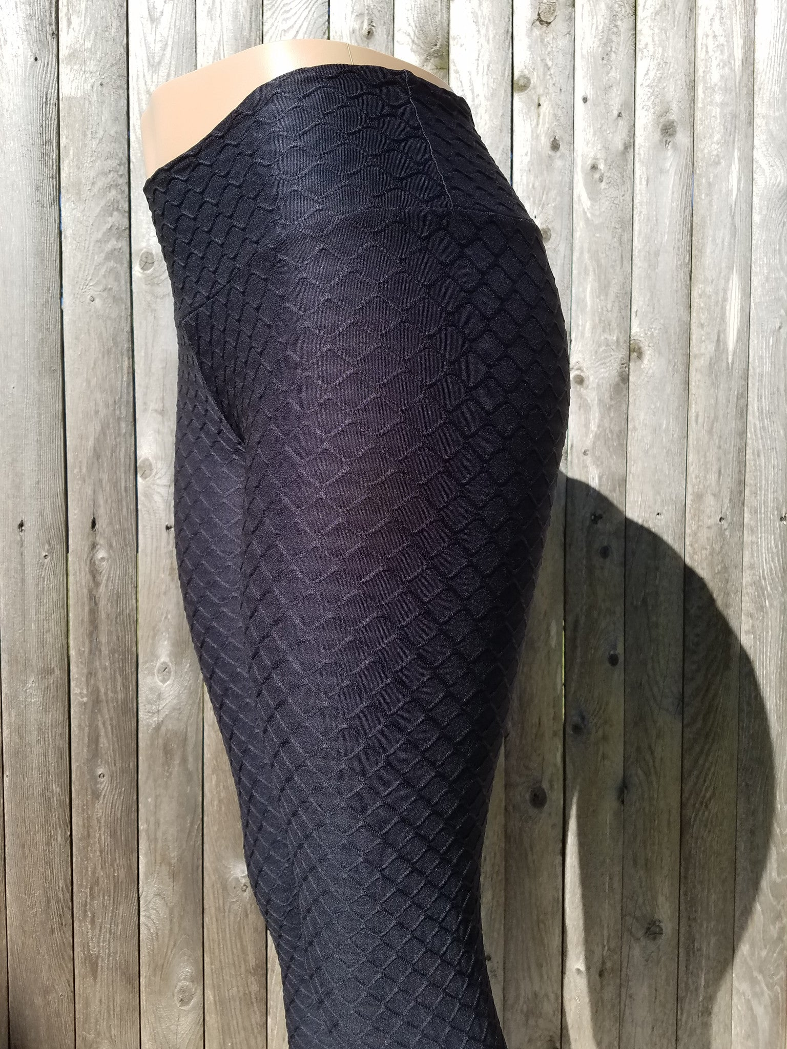 Brazilian Wave Black Women's Tights