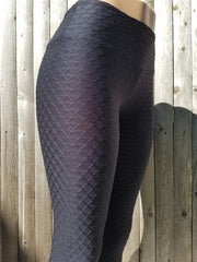 Brazilian Wave Black Women's Leggings