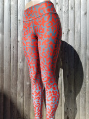 Silvered Workout Tights
