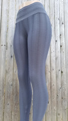 Python Gray Workout Leggings